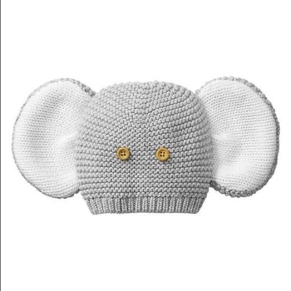 059df26948e GAP Other - baby gap • elephant knit hat